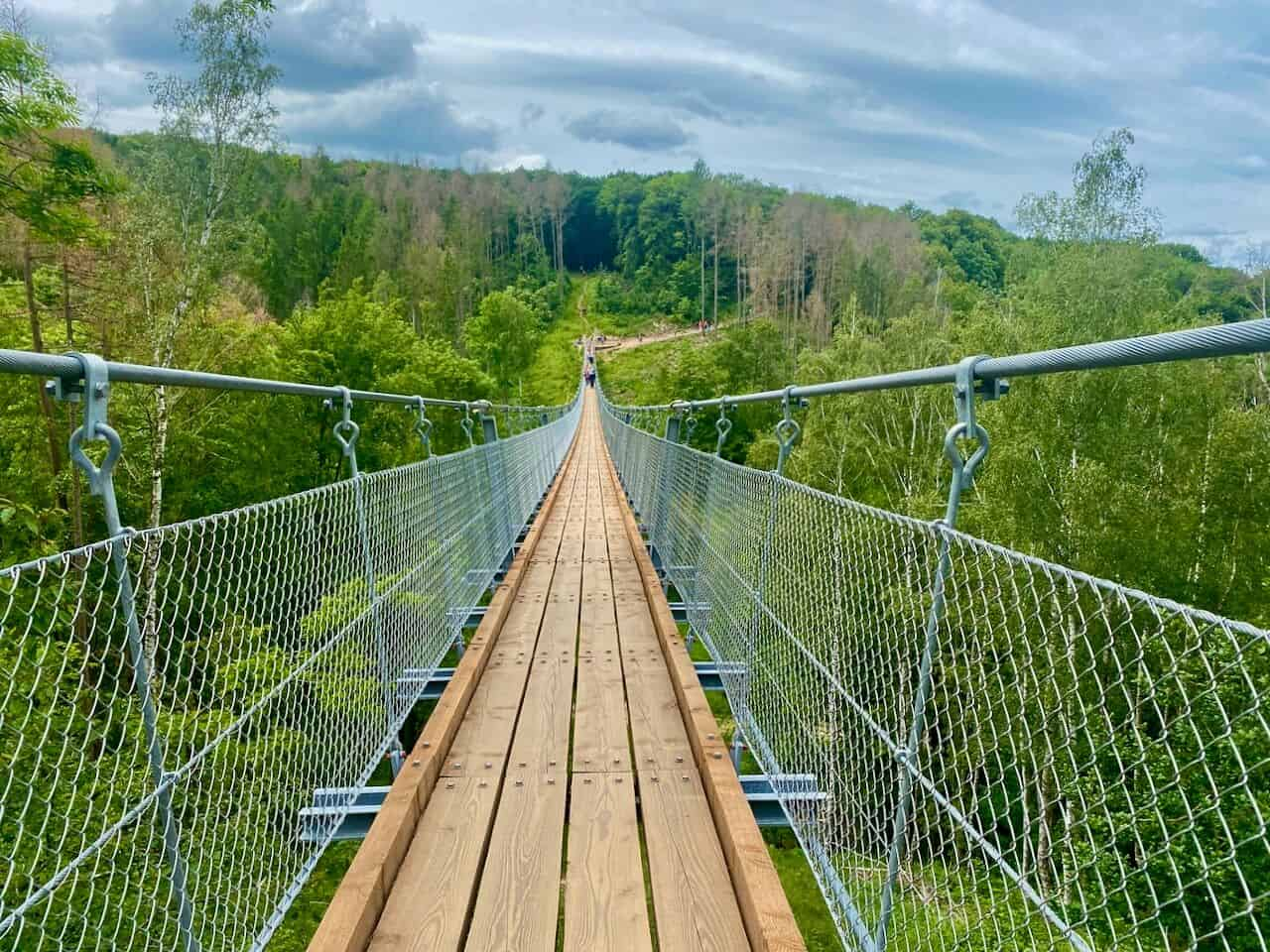 Hängeseilbrücke Hohe Schrecke