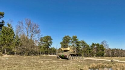 Panzer im Brander Wald